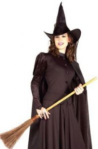 Classic Black Witch Costume